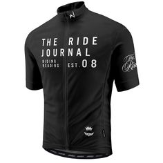 The Ride Journal Jersey Visit us @ http://www.wocycling.com/ for the best online cycling store.