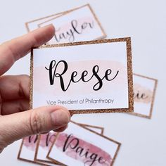 Sorority Recruitment Name Tags, Watercolor Rose Gold Sorority Recruitment Name Tags, Watercolor Rose Gold Sorority Recruitment Name Tags Watercolor Rose Gold<br> Sorority Name Tags, Recruitment Name Tags, Sorority Recruitment Decorations, Spring Recruitment, Sorority Rush, Sorority Canvas, Sorority Paddles, Sorority Crafts, Sorority Recruitment Dresses