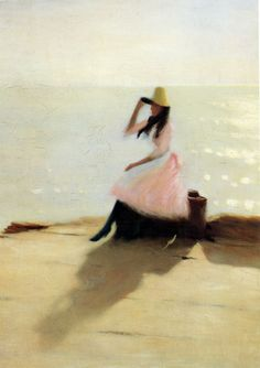 Young Woman at the Beach,  Philip Wilson Steer