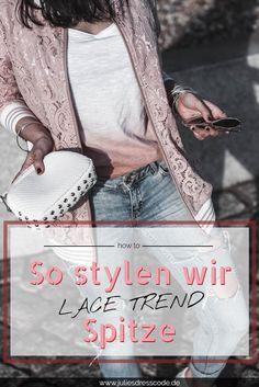 Der Lace Trend h�lt an und es lohnt sich auf Kleidung aus Spitze zu setzen. Im folgenden Post zeige ich euch meinen Blouson aus Spitze und erz�hle euch, warum Spitzenkleider ideal f�r tolle Streetstyle Looks und aufregende Stilbr�che sind.