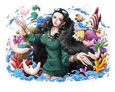 Nico Robin by KaizokuJotei on DeviantArt Zoro And Robin, Nico Robin, Digital Art Anime, Good Morning Friends, One Piece Manga, Iconic Characters, Cool Girl, Manga Anime, Clip Art