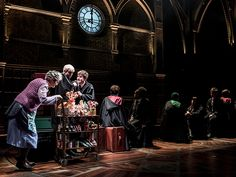 'Harry Potter and the Cursed Child': 22 Magical Photos | All aboard the Hogwarts Express: The Trolley Witch (Sandy McDade) serves up treats to…