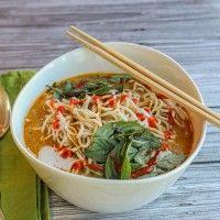 Thai Curried Ramen Bowl