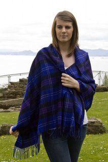 Pure Lambswool Tartan Stole, Heritage of Scotland