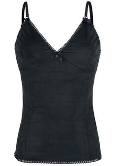 Skull Lace Top - Top van Gothicana by EMP