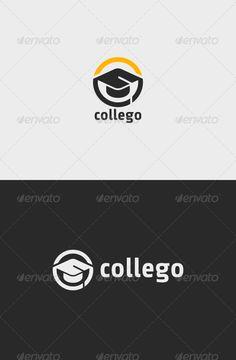 College Education Logo  #education #graduate #graduation • Available here →…