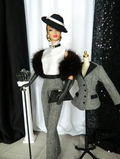 Dietrich~OOAK Fashion for Silkstone Barbie/Fashion Royalty by Joby Originals