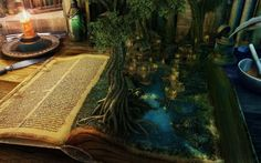 A book is magic portal to another dimension. ♥