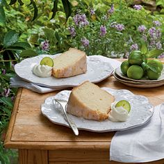 Key Lime Pound Cake Dress up traditional pound cake with a little lime zest and a homemade Key lime glaze for a deliciously tropical dessert...