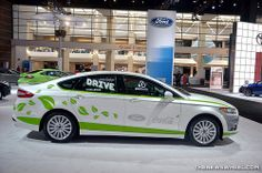 Ford Fusion Hybrid with Coca-Cola PlantBottle Technology