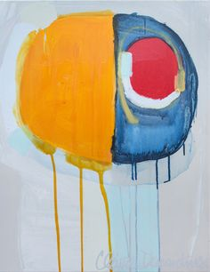 """Saatchi Online Artist: Claire Desjardins; Acrylic, 2010, Painting """"May I Introduce"""""""