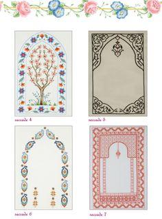 Prayer rug designs