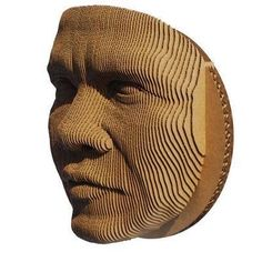 Cardboard Art Mask