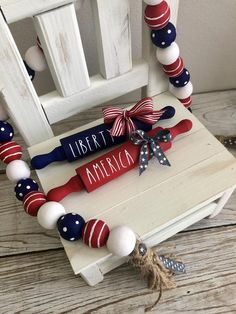 of July, Independence Day, Memorial Day farmhouse style mini sign sets! Red white & blue Americana, patriotic, perfect for Tiered trays Fourth Of July Decor, 4th Of July Decorations, 4th Of July Party, 4th Of July Wreath, July 4th, Patriotic Crafts, July Crafts, Summer Crafts, Holiday Crafts