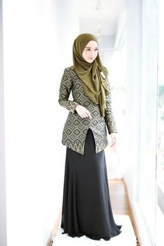 The premier destination for modest fashion wear. Batik Fashion, Abaya Fashion, Muslim Fashion, Fashion Wear, Fashion Outfits, Model Kebaya Muslim, Muslim Dress, Abaya Mode, Mode Hijab