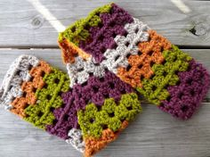 I'm loving this pattern! Free Crochet Pattern...Scrap Love Scarf