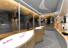 "Check out Karim Rashid's sex shop interior that was designed to ""satisfy primal desire""."
