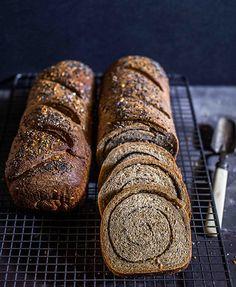 Spiral Seeded Protein Bread
