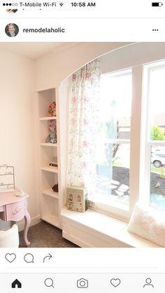 Bücherregal Bank, Bücherschränke, Fensterbänke, Mädchenzimmer, Wohnideen,  Schlafzimmer Ideen