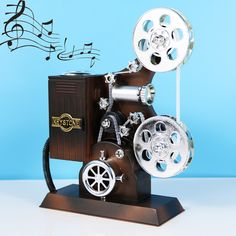 Vintage Movie Film Projector Music Box Creative Gifts Furnishings Ornaments Makeup Jewelry Boxes Christmas Present-in Music Boxes from Home & Garden on Aliexpress.com | Alibaba Group
