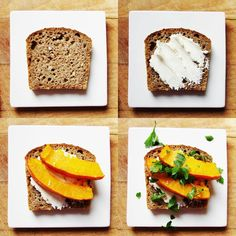 EASY pumpkin sandwich !