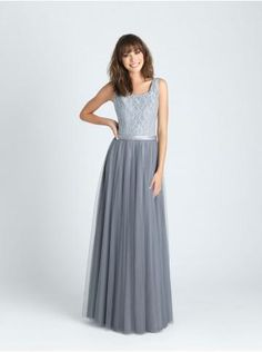 robe de soiree tulle col rond
