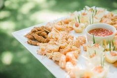 Delicious Canape's by Yours Truly Canapes, Pasta Salad, Wedding Decorations, Ethnic Recipes, Food, Crab Pasta Salad, Essen, Wedding Decor, Meals