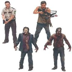 The Walking Dead TV Series 1 Action Figure Set... Run, Barbie...RUN!