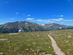 Ute Trail - highly recommend this trail, which offers spectacular high elevation views without being as strenuous as some other tundra hikes. Off Trail Ridge Road in Rocky Mountain National Park