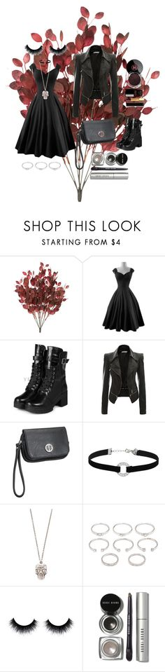 """""""Bourdeux"""" by fromlifeescape ❤ liked on Polyvore featuring yeswalker, maurices, Miss Selfridge, Alexander McQueen, Forever 21, Bobbi Brown Cosmetics and Chanel"""