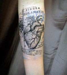Top 90 Anatomical Heart Tattoo Ideas - [2020 Inspiration Guide] Great Tattoos, Crazy Tattoos, Heart Tattoo Designs, Anatomical Heart, Human Emotions, Heart Art, Tattoo Drawings, Sleeve Tattoos, Beautiful