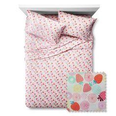 Berry Brights Sheet Set - Pillowfort™ : Target