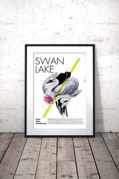 Swan Art Print, Animal Wall Art, Swan Poster Download, Digital Download Art Print, Wall Art Printable, Birthday Gift Her, INSTANT DOWNLOAD  Swan Lake (Russian: Лебединое озеро/Lebedinoye ozero), is a ballet composed by Pyotr Ilyich Tchaikovsky in 1875-76.  ❤ Enjoy 30% saving when you purchase 3 or more prints, enter code SAVE30 at checkout.  IF YOU NEED A SPECIFIC SIZE, please request a custom order and I will gladly do it for you :) There is no extra cost!  ►YOU WILL RECEIVE: 2 high qu... Dorm Room Art, Ballet Posters, Dance Teacher Gifts, Poster Prints, Art Prints, Girl House, Swan Lake, Printing Services, Printable Wall Art