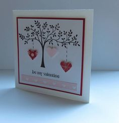 CAS Be My Valentine by nancy littrell - Cards and Paper Crafts at Splitcoaststampers