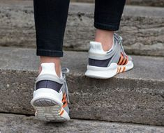 Adidas Equipment Support ADV Clear Granite Orange Shoes Eqt Support Adv, Orange Shoes, Adidas, Granite, Granite Counters
