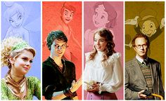 Once Upon A Time - Tinkerbelle, Peter Pan, Wendy, Jiminy Cricket