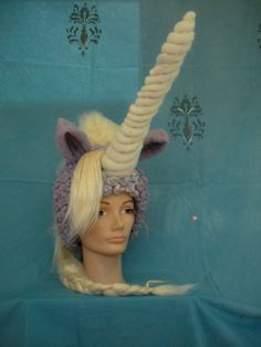 I would call this the most awesome unicorn wig ever, but I'm not sure I've ever seen another one...