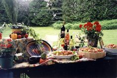 outdoor catering | Catering Ontario- Southern Belles Catering - Guelph, Fergus, Belwood Outdoor Catering, Outdoor Events, Wellington Food, Southern Belle, Ontario, Centre, Restaurants, Table Settings, Wedding Ideas