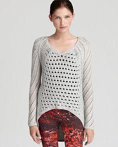 Helmut Lang Sweater - Open Weave | Bloomingdale's