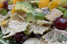 Lemon Tarragon Pasta Salad - Plates and Palates knock off