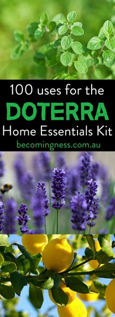 I have put together 100 uses for the doTERRA Home Essentials Kit which contains the 10 most popular doTERRA essential oils. You can make up so many different blends and home-made products using just these oils alone.