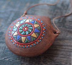 Ceramic Jewelry, Ceramic Art, Clay Art, Diy Crafts, Cool Stuff, Brown, Inspiration, Design, Native American Flute