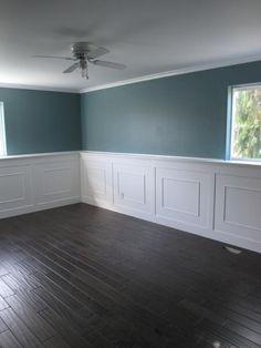 Beautiful birch handscraped hardwood floor....love these colors.