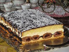 """Domowe ciasta i obiady: Ciasto """"Krokodyle oczy"""""""