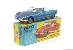 Mettoy Corgi Toys No.259 Le Dandy Coupe 1966-69 rare 2 Tone paint