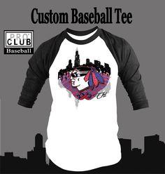 Baseball T Shirt to Match Air Jordan 10 Chicago Shoe