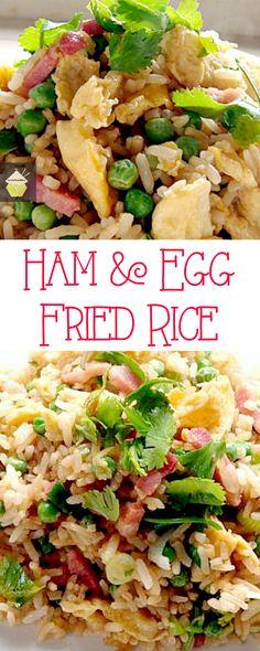 Ham & Egg Fried Rice