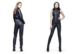 (11) Arc Chrome 3D Tapered Jeans - (12) 5620 Ski Vest & Radar Racer HW Skinny Jeans - G-Star RAW 2013 Pre Spring Summer Womens Collection
