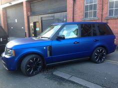 Range Rover sport matte purple