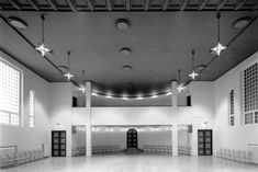 #alvaraalto Jyväskylä Workers' Club - Alvar Aalto Foundation | Alvar Aalto -säätiö Alvar Aalto, Classical Architecture, Architecture Design, Pink Houses, Ravenna, Track Lighting, Foundation, Indoor, Ceiling Lights